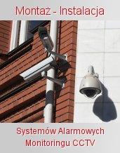 montaż monitoringu cctv - instalacja alarmów